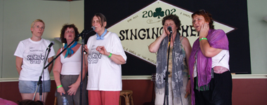 Woodford - singing Shed 2005-06